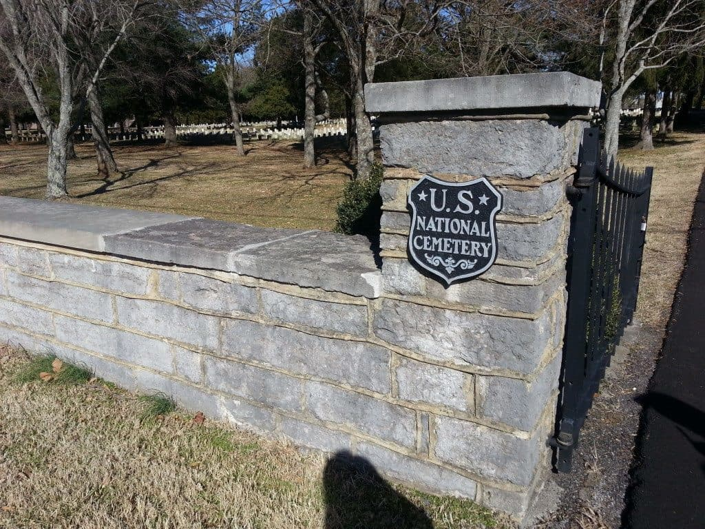 Stones River Battlefield National Cemetery Entrance