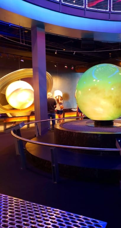 Adventure Science Center - Interactive Planets