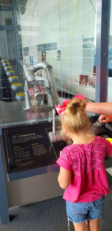 Adventure Science Center - Propulsion Activity