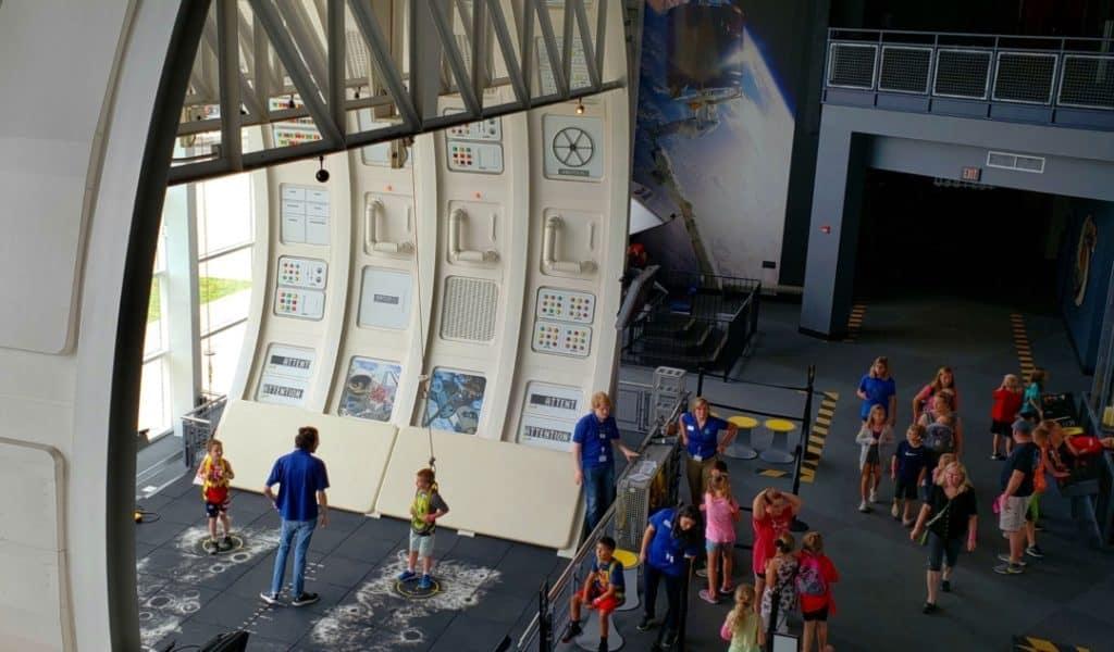 Adventure Science Center - Space Walk