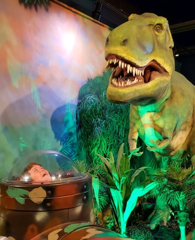 Adventure Science Center - Dinosaur