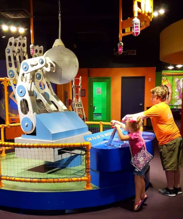 Adventure Science Center - brain activity