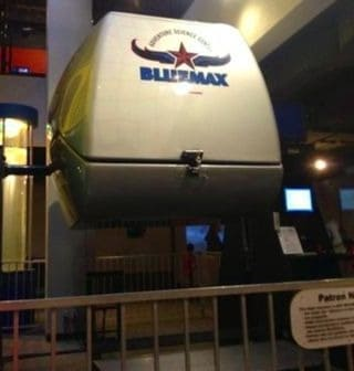 Blue Max Flight Simulator
