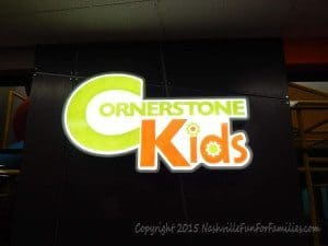 Cornerstone Indoor Playground - Kids Sign