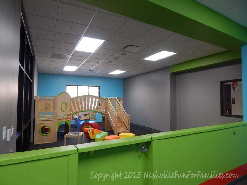 Cornerstone Indoor Playground - Toddler area 1