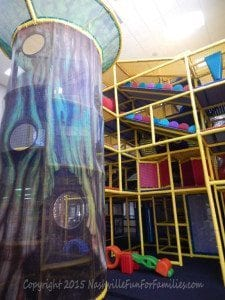 Cornerstone Indoor Playground -playscape 1