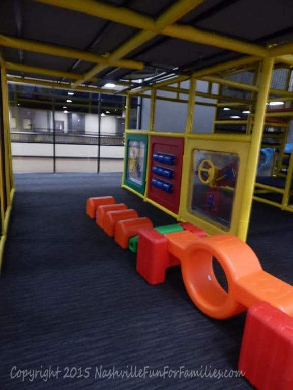 Cornerstone Indoor Playground -playscape 3