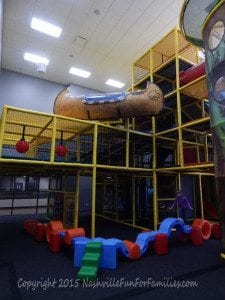 Cornerstone Indoor Playground -playscape 4
