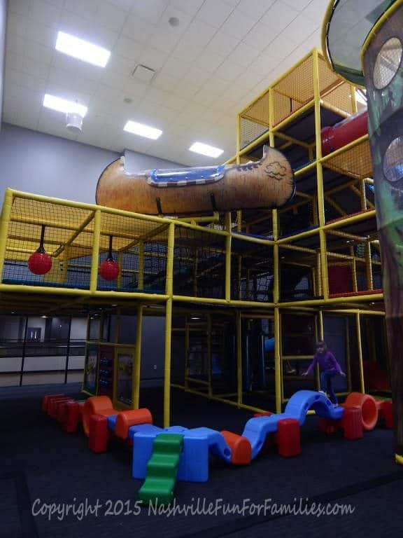 Cornerstone Indoor Playground -playscape 4