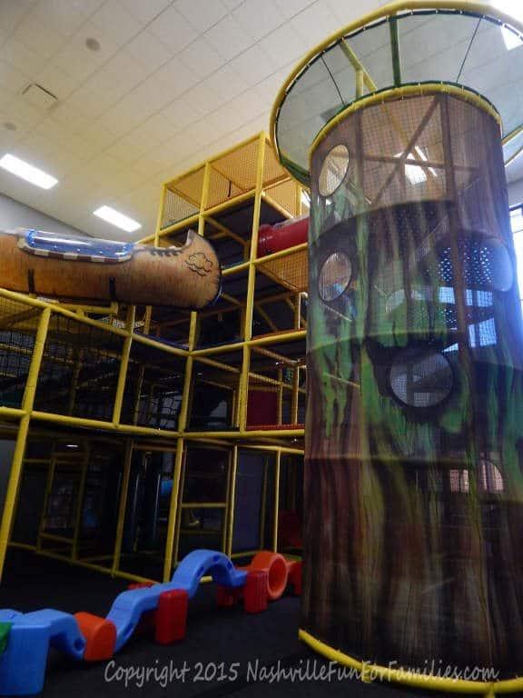 Cornerstone Indoor Playground - playscape 5