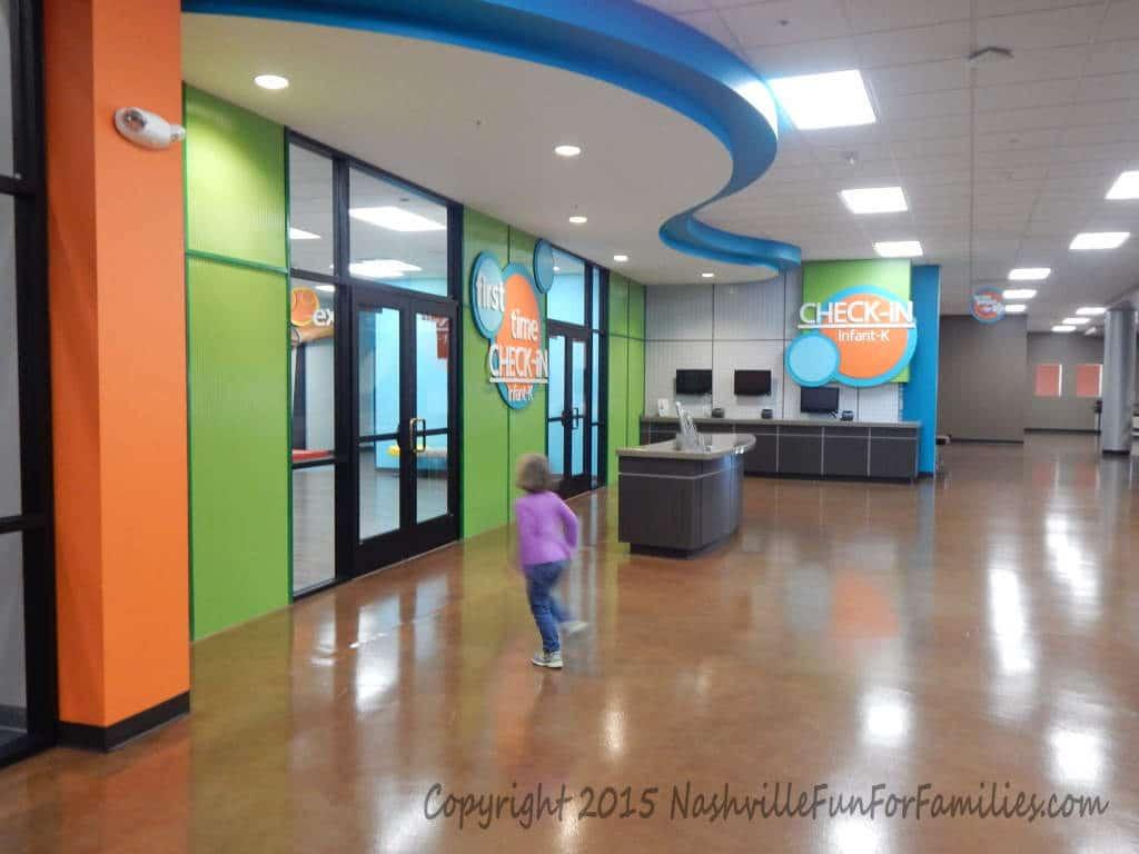 Cornerstone Indoor Playground - playscape entry