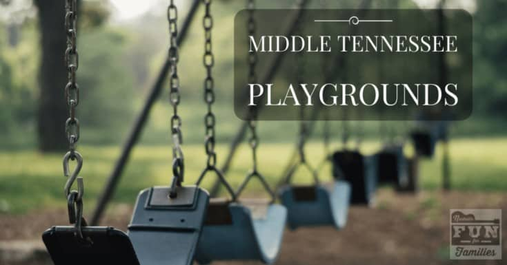 Playgrounds in Middle Tennessee