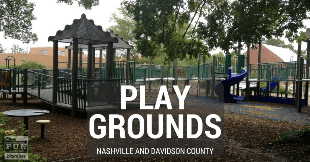 Playgrounds in Nashville and Davidson County