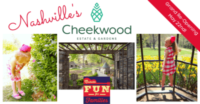 Cheekwood (Re-opening May 22nd! Find the Covid health and safety guidelines at the bottom of this article.)