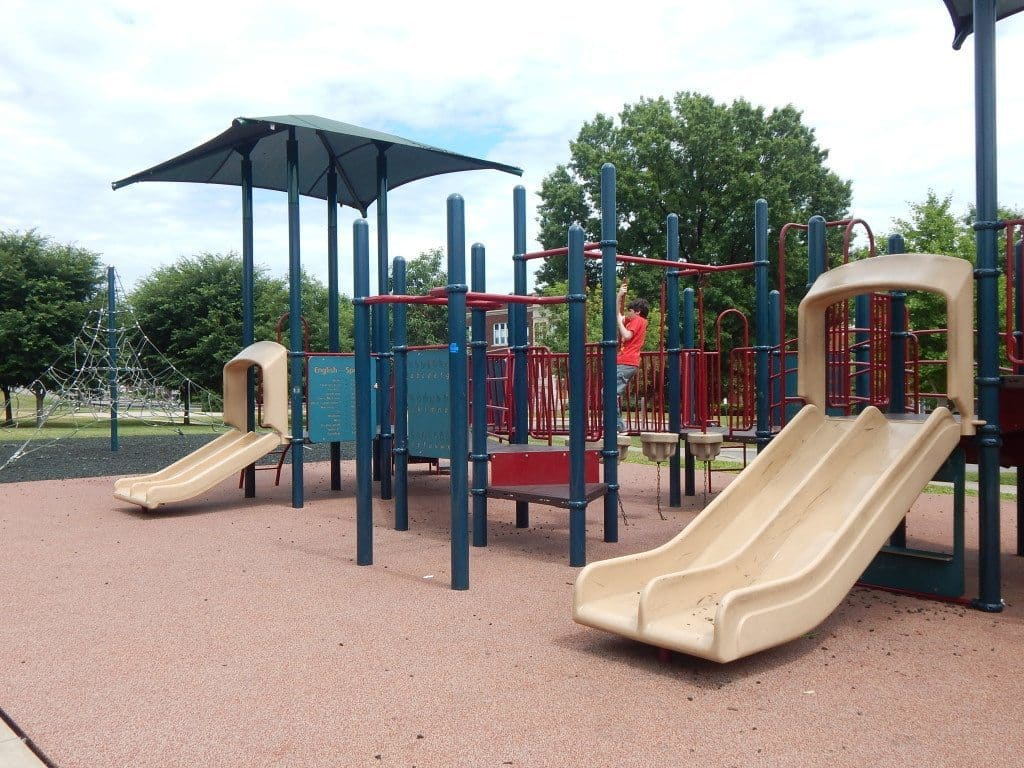East Park and Recreation Center - Playscape and slides