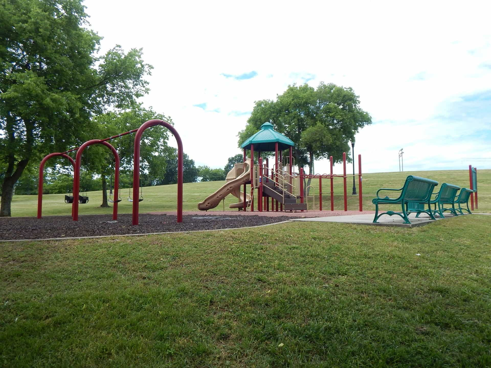 South Inglewood Park and Community Center - second playground