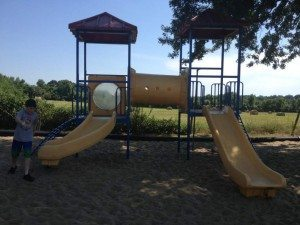 Jellystone Park Visit - Playscape