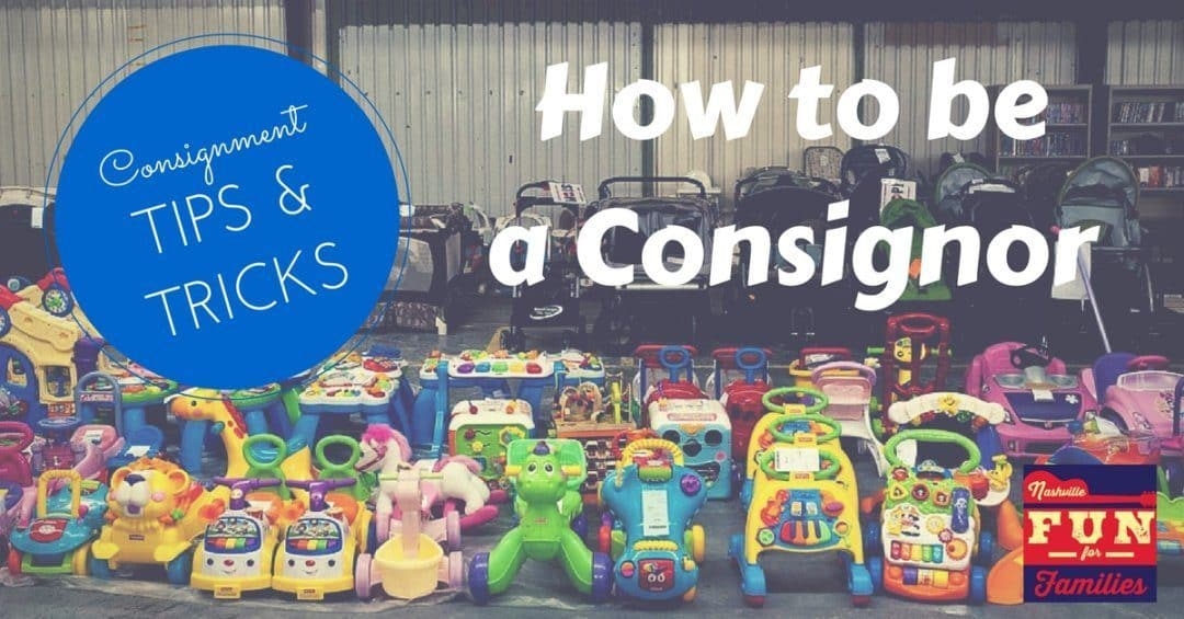 Consignment Sale Tips and Tricks – How to Be a Consignor