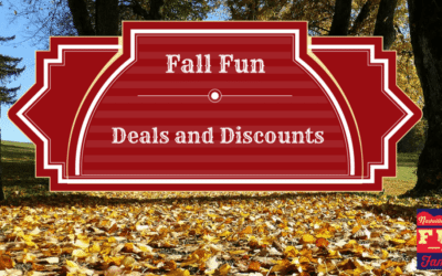 Fall Fun Deals and Discounts