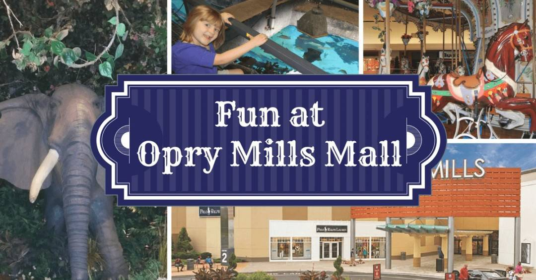 Fun at opry mills mall