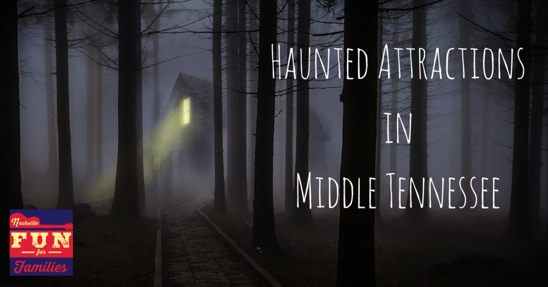 Haunted Attractions in Middle Tennessee - cover