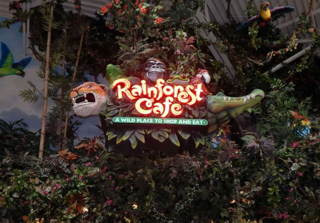 Opry Mills Mall - Rainforest Cafe