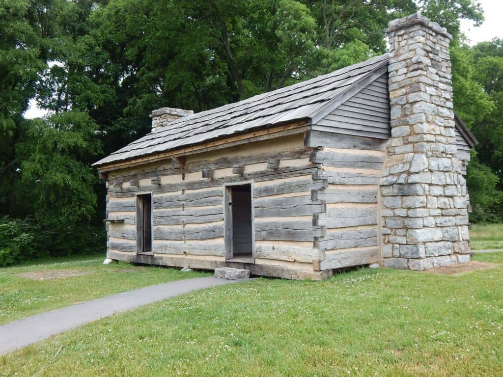 NFFF - The Hermitage - Original cabin