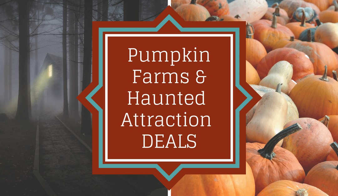 Pumpkin Patch and Haunted Attraction Coupons, Promo Codes, and Deals