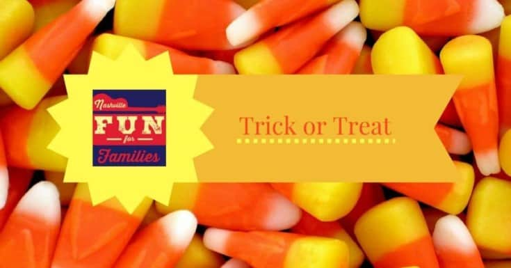 Trick or Treat Halloween Events - October 31