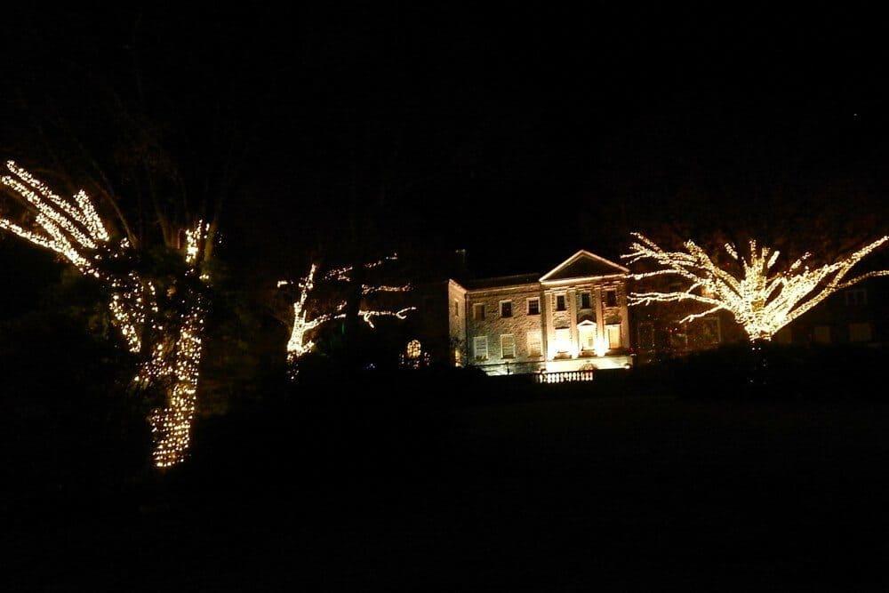 holiday lights at cheekwood botanical garden 2015 the mansion