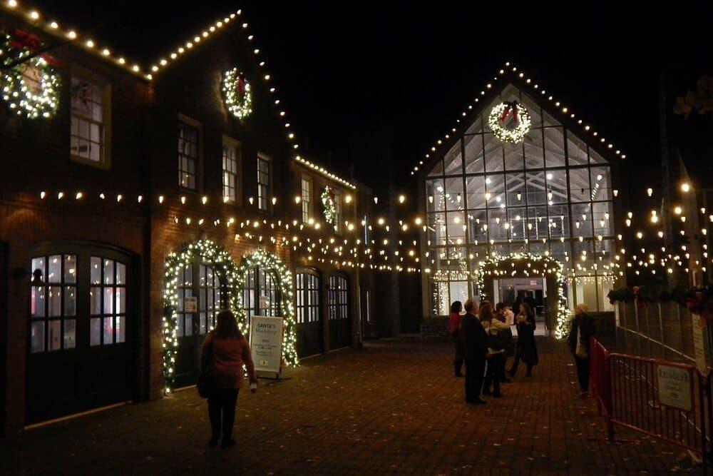 Holiday Lights at Cheekwood Botanical Garden - 2015 - Santa's Village
