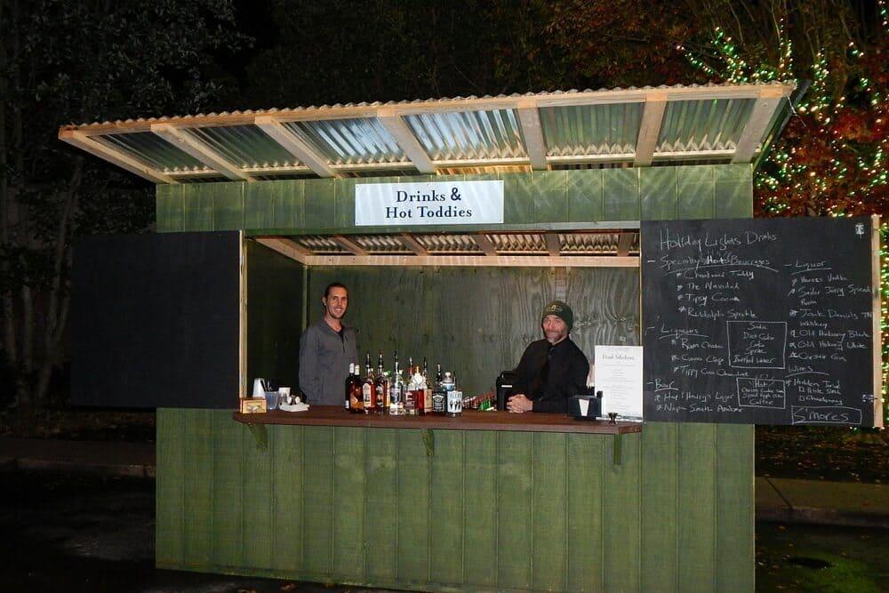 Holiday Lights at Cheekwood Botanical Garden - 2015 - concession stand