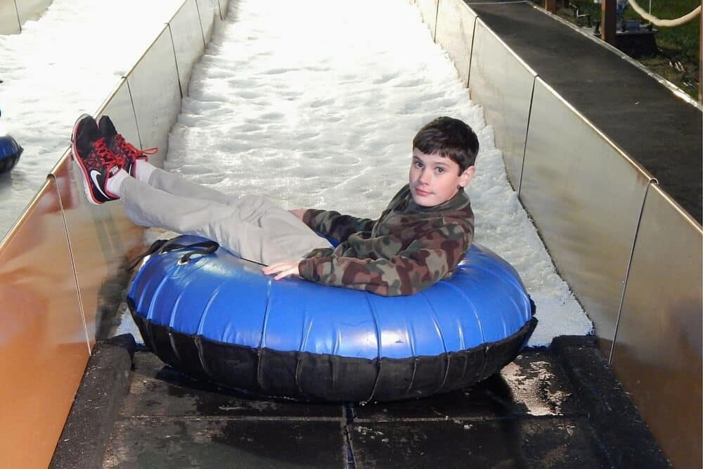 Gaylord Opryland Country Christmas - snow tubing