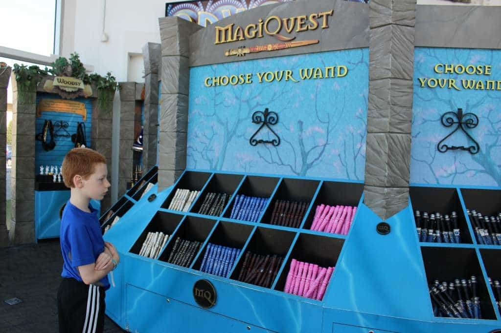 MagiQuest - choose your wand