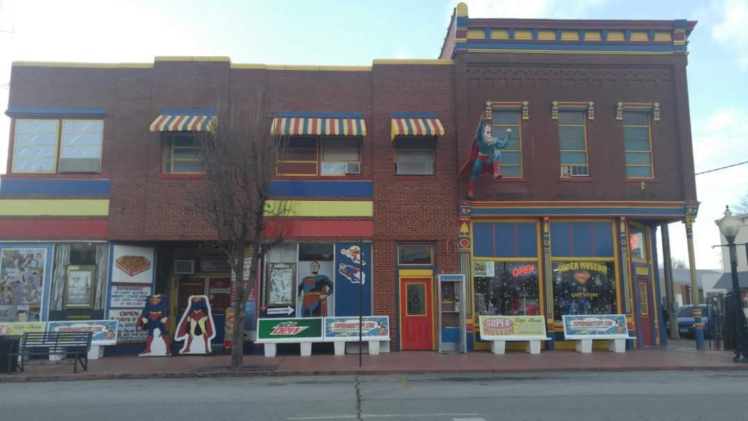 Superman in Metropolis, Illinois - Superman Museum 4