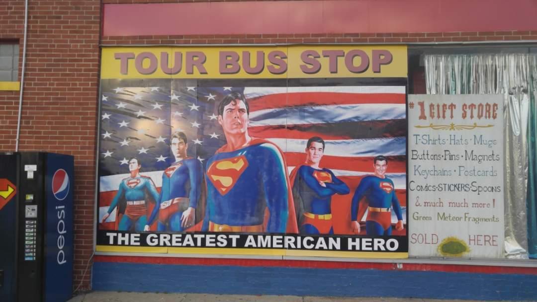 Superman in Metropolis, Illinois - Superman museum 2