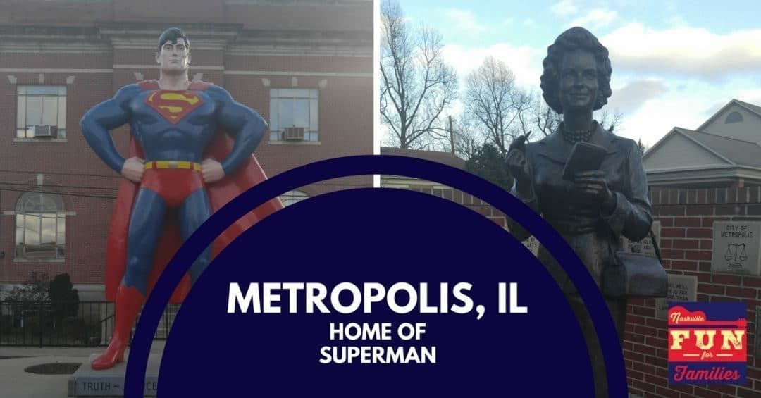Visit Superman in Metropolis, Illinois