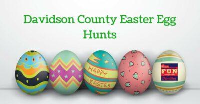 Davidson County Easter Egg Hunts