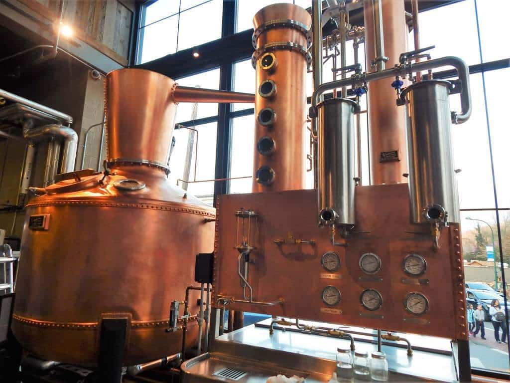 Sugarlands Distillery - copper still