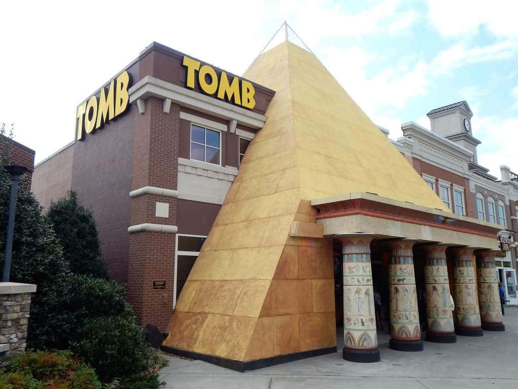 The Tomb - outside building