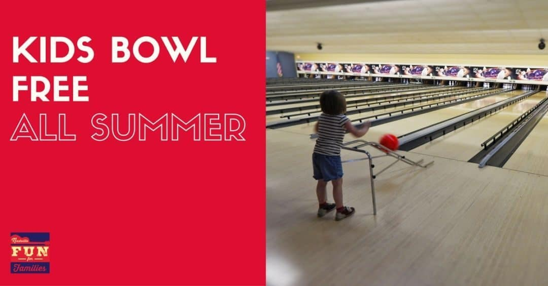 Kids Bowl Free in Middle Tennessee