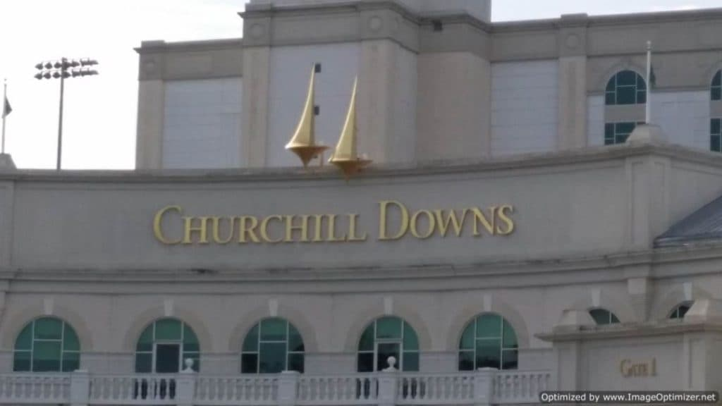 Churchill Downs Exterior