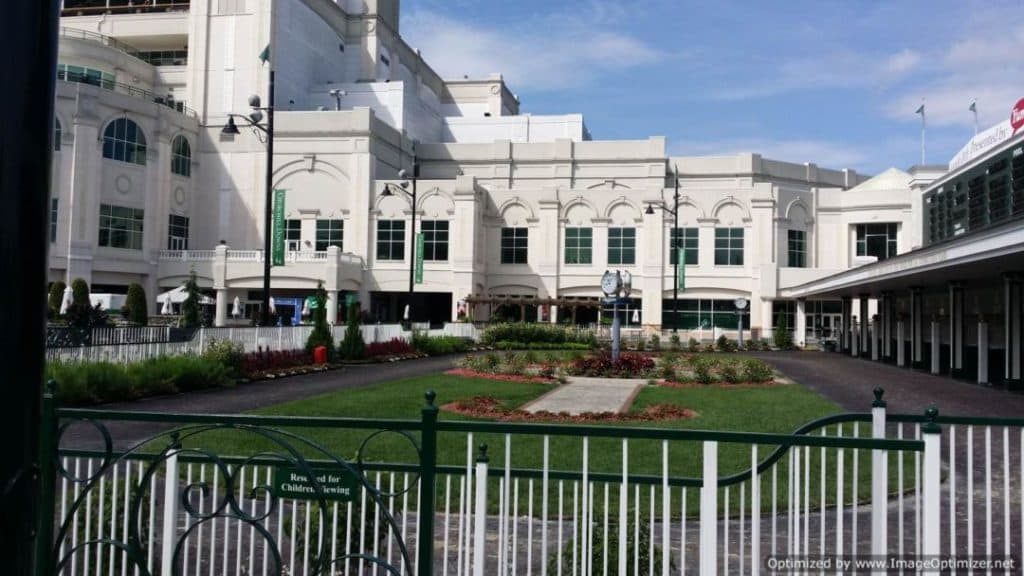 Churchill Downs & The Kentucky Derby exterior