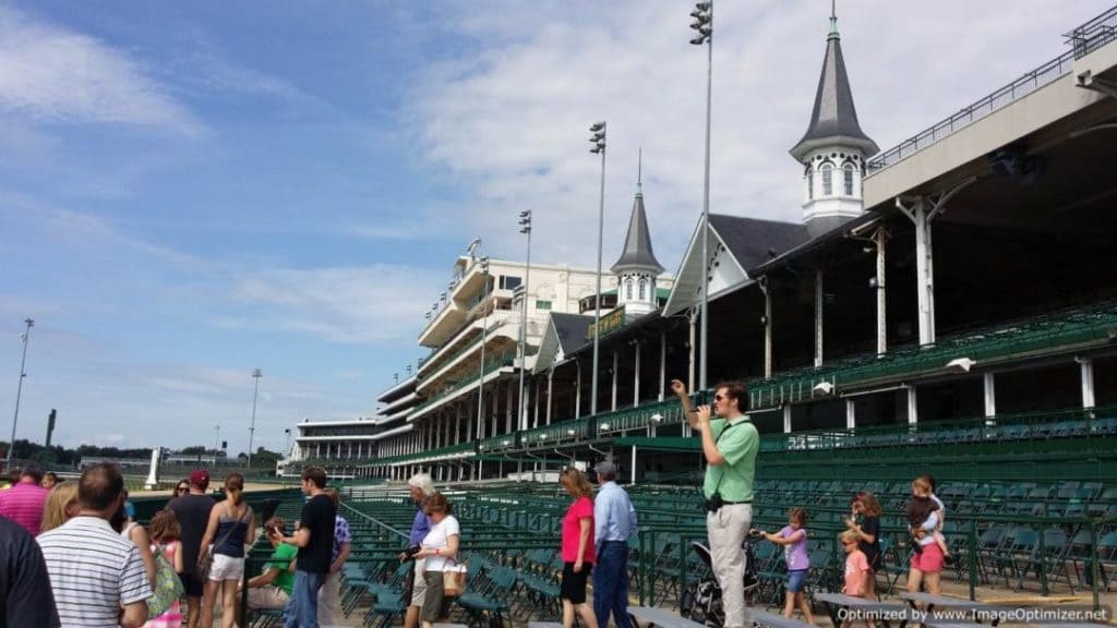 Churchill Downs & The Kentucky Derby stadium seating
