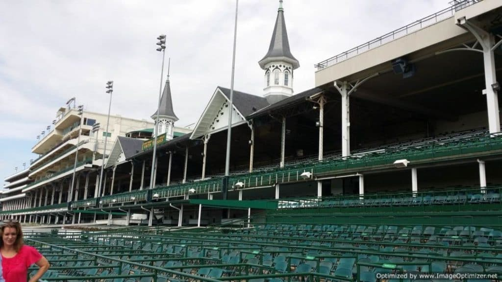 Churchill Downs & The Kentucky Derby stadium