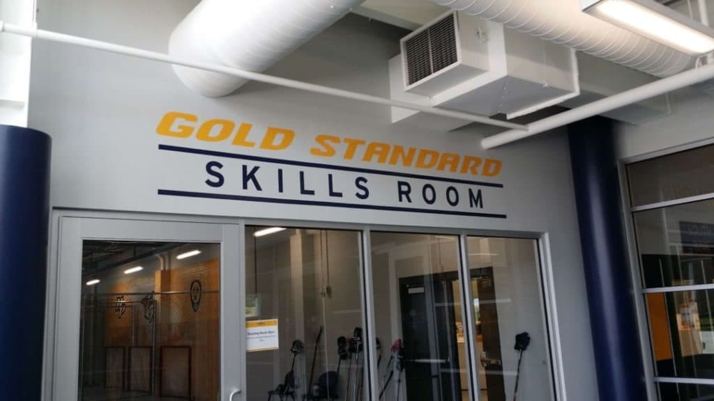 Ford Ice Center Skills Room