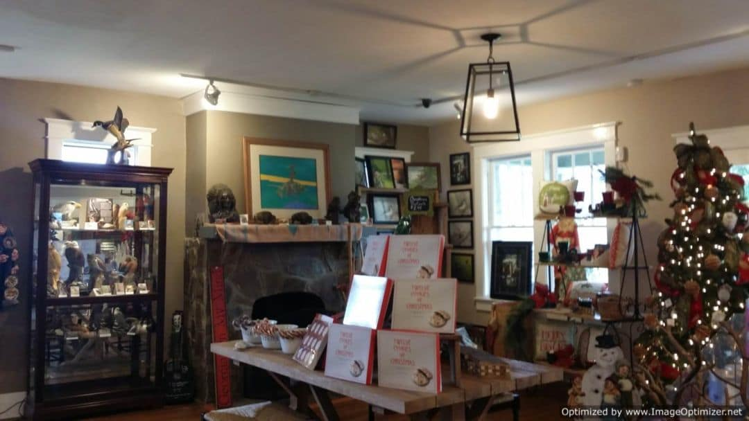 The Fontanel gift shop