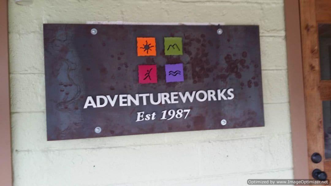 The Fontanel Adventureworks sign