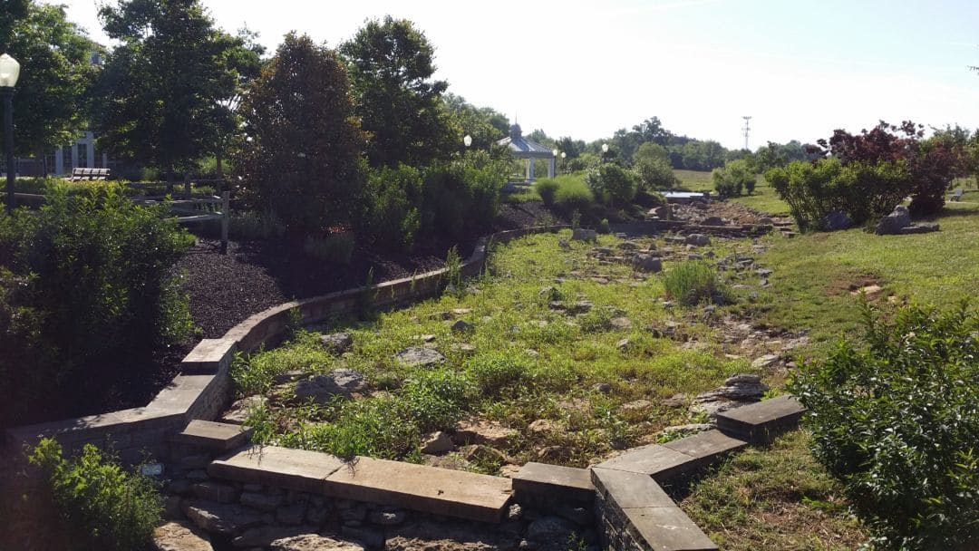 Gateway Island gardens