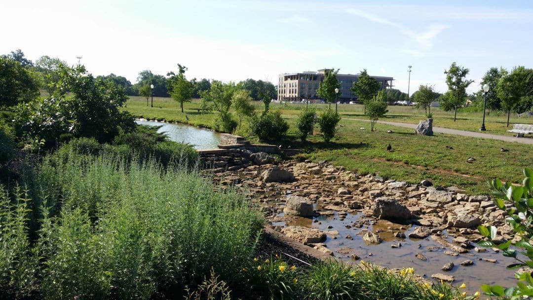 Gateway Island waterway
